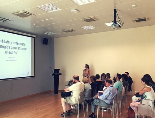 Conferencia en AENA: estrésate y enférmate